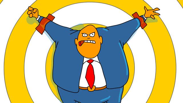 The Boss - Joe Cartoon